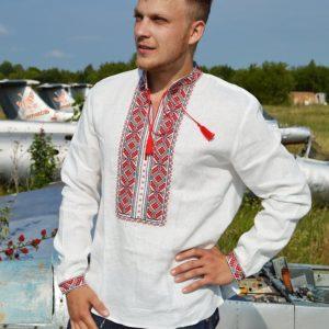Мужская рубаха с вышивкой